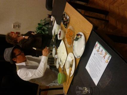 Reading Club- Making Sushi