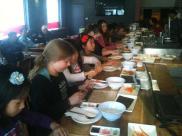 Toronto-Kampala sushi class photo