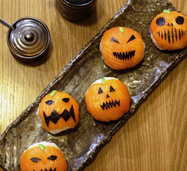 Halloween Sushi Images