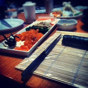 Sushi class picture