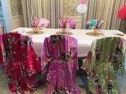 The kimonos